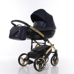 Wózek dziecięcy SAPHIRE JUNAMA 3w1 granatowy
