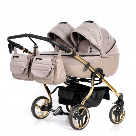 Laret Imperial Duo Tako wielofunkcyjny wózek bliźniaczy 4w1