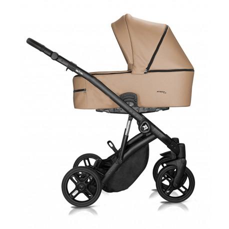 Wózek dziecięcy Atteso Ledo wielofunkcyjny Milu Kids 3w1 brązowy