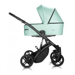 Wózek dziecięcy Atteso Ledo wielofunkcyjny Milu Kids 3w1 zielony