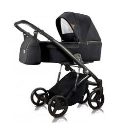Wózek dziecięcy wielofunkcyjny Atteso  Milu Kids zestaw 3w1 czarny
