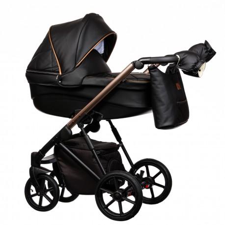 Wózek dziecięcy FX Eco Paradise Baby 2w1 czarny czarny