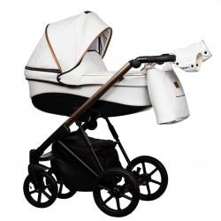 Wózek dziecięcy FX Eco Paradise Baby 2w1 czarny biały