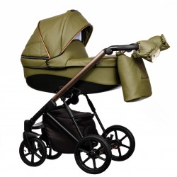 Wózek dziecięcy FX Eco Paradise Baby 2w1 czarny khaki