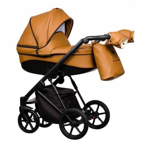 Wózek dziecięcy FX Eco Paradise Baby 2w1 czarny brązowy