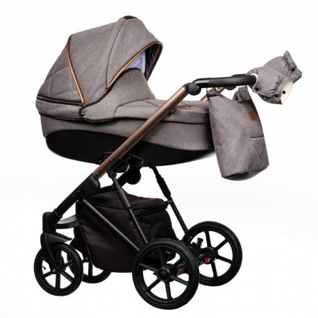 Wózek dziecięcy FX Paradise Baby 2w1 szary