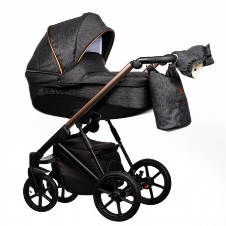 Wózek dziecięcy FX Paradise Baby 2w1 czarny