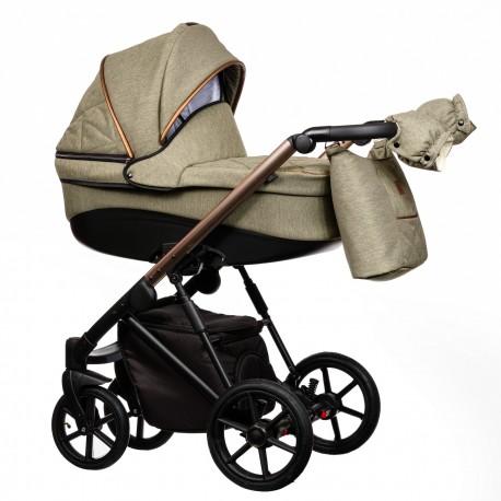 Wózek dziecięcy FX Paradise Baby 2w1 khaki