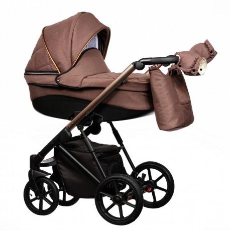 Wózek dziecięcy FX Paradise Baby 2w1 brązowy