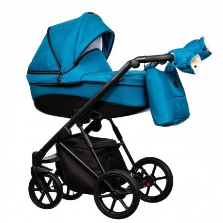 Wózek dziecięcy FX Paradise Baby 2w1 niebieski