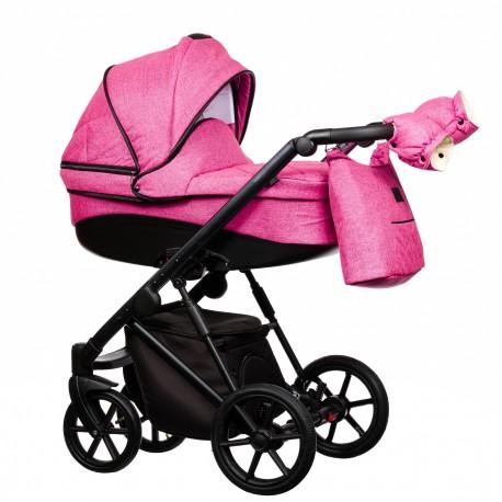 Wózek dziecięcy FX Paradise Baby 2w1 różowy