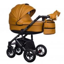 Wózek dziecięcy Paradise Baby EUFORIA wielofunkcyjny 2w1 żółty