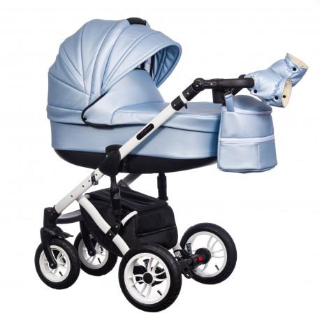 Wózek dziecięcy Paradise Baby EUFORIA wielofunkcyjny 2w1 błękitny