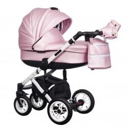 Wózek dziecięcy Paradise Baby EUFORIA wielofunkcyjny 2w1 różowy