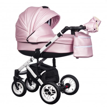 Wózek dziecięcy Paradise Baby EUFORIA wielofunkcyjny 2w1  szary z białym
