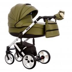 Wózek dziecięcy Paradise Baby EUFORIA wielofunkcyjny 2w1 khaki
