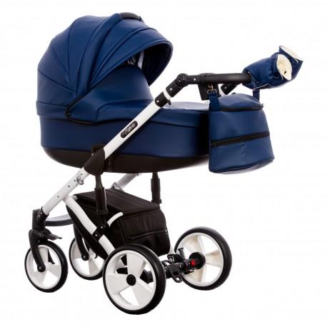 Wózek dziecięcy Paradise Baby EUFORIA wielofunkcyjny 2w1 granatowy