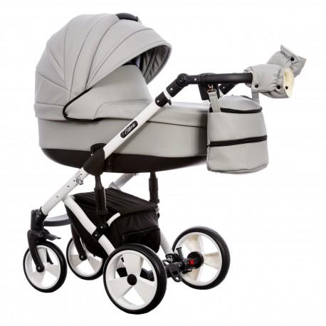 Wózek dziecięcy Paradise Baby EUFORIA wielofunkcyjny 2w1  szary