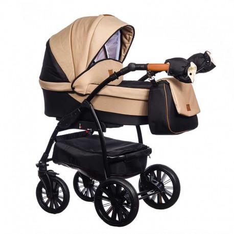Wózek dziecięcy Verso Paradise Baby 2w1 brązowy NISKA CENA