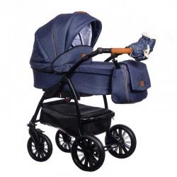Wózek dziecięcy Verso Paradise Baby 2w1 niebieski NISKA CENA