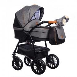 Wózek dziecięcy Verso Paradise Baby 2w1 czarny NISKA CENA