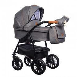 Wózek dziecięcy Verso Paradise Baby 2w1 szary NISKA CENA