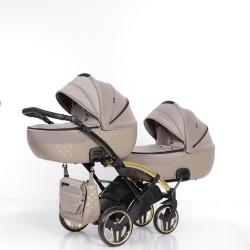Laret Imperial Duo Slim Tako wielofunkcyjny wózek bliźniaczy 3w1