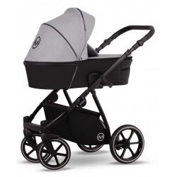 Wózek dziecięcy wielofunkcyjny Pax Lonex zestaw 3w1 szary