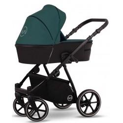 Wózek dziecięcy wielofunkcyjny Pax Lonex zestaw 3w1 zielony