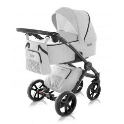 Wielofunkcyjny i nowowczesny wózek dziecięcy Modern Milu Kids zestaw 3w1