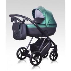Wózek dziecięcy wielofunkcyjny Vivaio Milu Kids w zestawie 2w1 zielony