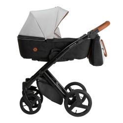 Wózek dziecięcy wielofunkcyjny Diamos VX Tutek 3w1  szary