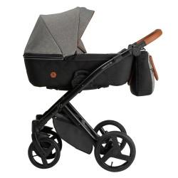 Wózek dziecięcy wielofunkcyjny Diamos VX Tutek 3w1  grafitowy