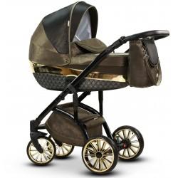 Wielofunkcyjny wózek dziecięcy Amber Wiejar w zestawie 2w1