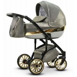 Wielofunkcyjny wózek dziecięcy Piryt Wiejar 3w1