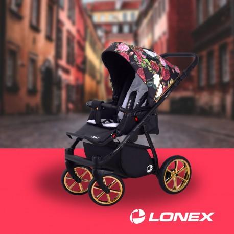 Wózek spacerowy Lonex Sport turkusowy