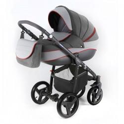 Neonex Alfa Adamex wózek dziecięcy wielofunkcyjny 3w1
