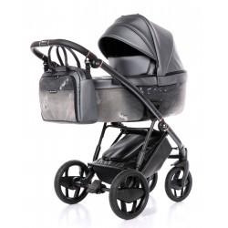 Ekskluzywny wózek INVICTUS 2.0 Jeans black 2W1