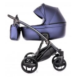 Ekskluzywny wózek INVICTUS 2.0  2W1 niebieski