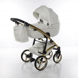 Tako Laret gt wózek dziecięcy wielofunkcyjny 2w1 biało-złoty