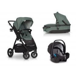 Wózek  EasyGo Optimo 3w1 zielona