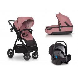 Wózek  EasyGo Optimo 3w1 rozowe