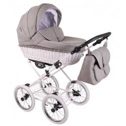 Wózek dzieciecy Retro Len Lonex 4w1