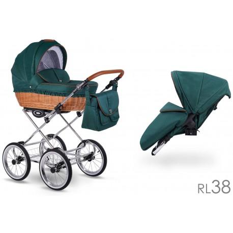 Wózek dzieciecy Retro Len Lonex 2w1