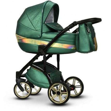 Wózek dziecięcy wielofunkcyjny Malachit Wiejar 2w1