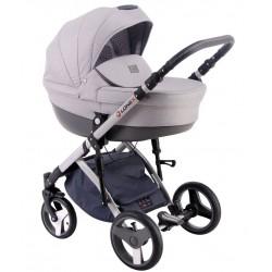 Comfort Prestige Lonex - wózek dziecięcy wielofunkcyjny jasno szary 3w1