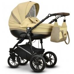 Sawo eco Vega wózek dziecięcy wielofunkcyjny beżowy gondola + stelaż