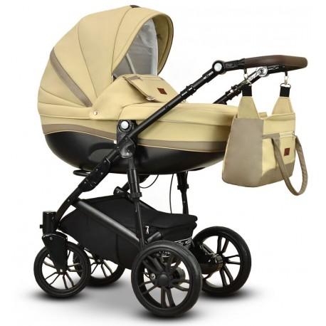 Sawo eco Vega wózek dziecięcy beżowy wielofunkcyjny 3w1