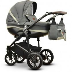 Sawo eco Vega wózek dziecięcy wielofunkcyjny szary gondola + stelaż