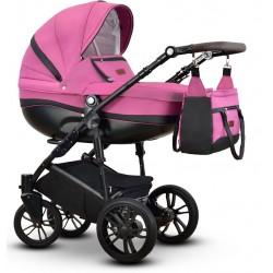Sawo Vega wózek dziecięcy wielofunkcyjny różowy gondola + stelaż